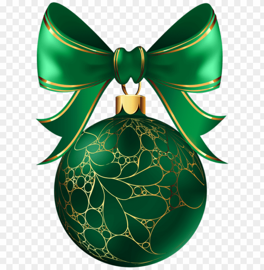 christmas ball green png - Free PNG Images@toppng.com