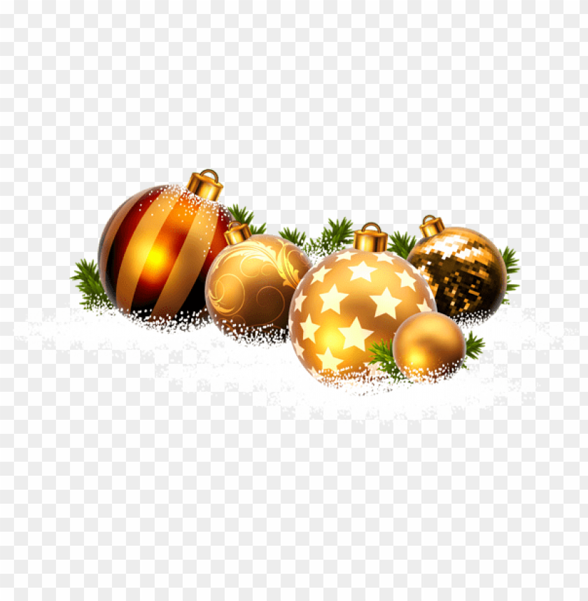 free PNG christmas balls and snow png - Free PNG Images PNG images transparent