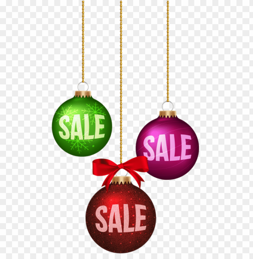 Christmas Balls Sale Decoration Png Free Png Images Toppng