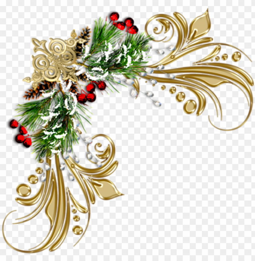 christmas border, christmas frames, simple christmas, - christmas frame png corner PNG image with transparent background@toppng.com