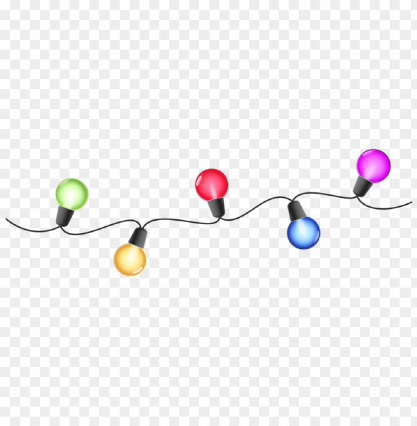 free PNG christmas colorful lights png - Free PNG Images PNG images transparent