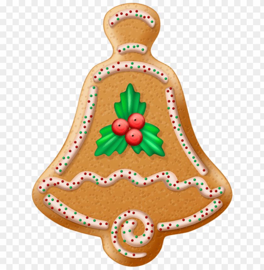 Christmas Cookie Bell Transparent Png Free Png Images Toppng