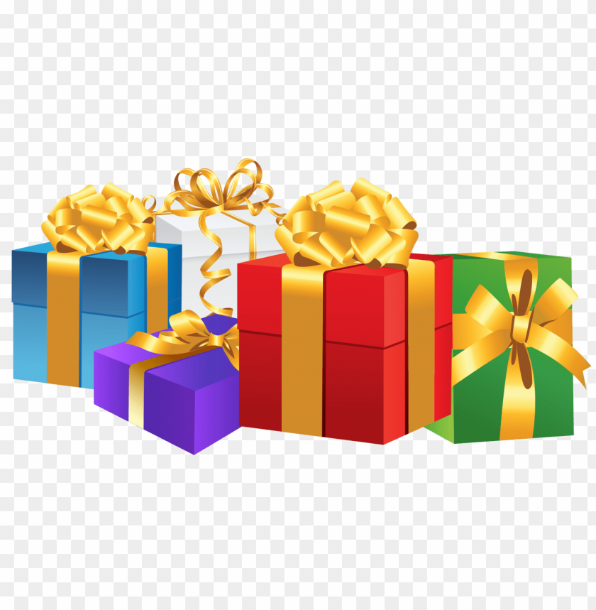 free png christmas gifts png images transparent