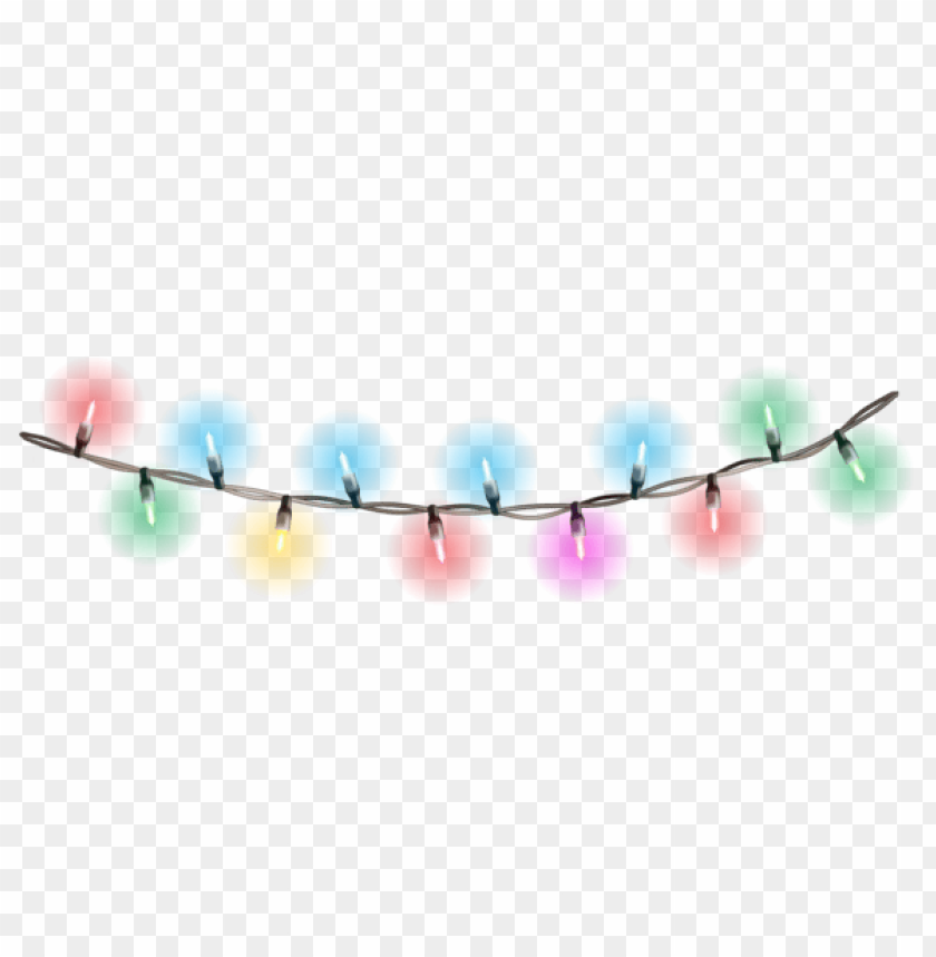 free PNG christmas glowing lights png - Free PNG Images PNG images transparent