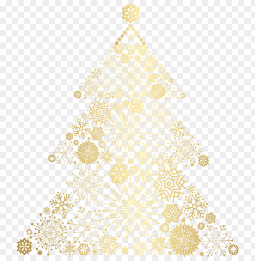 Christmas Gold Tree Png Free Png Images Toppng