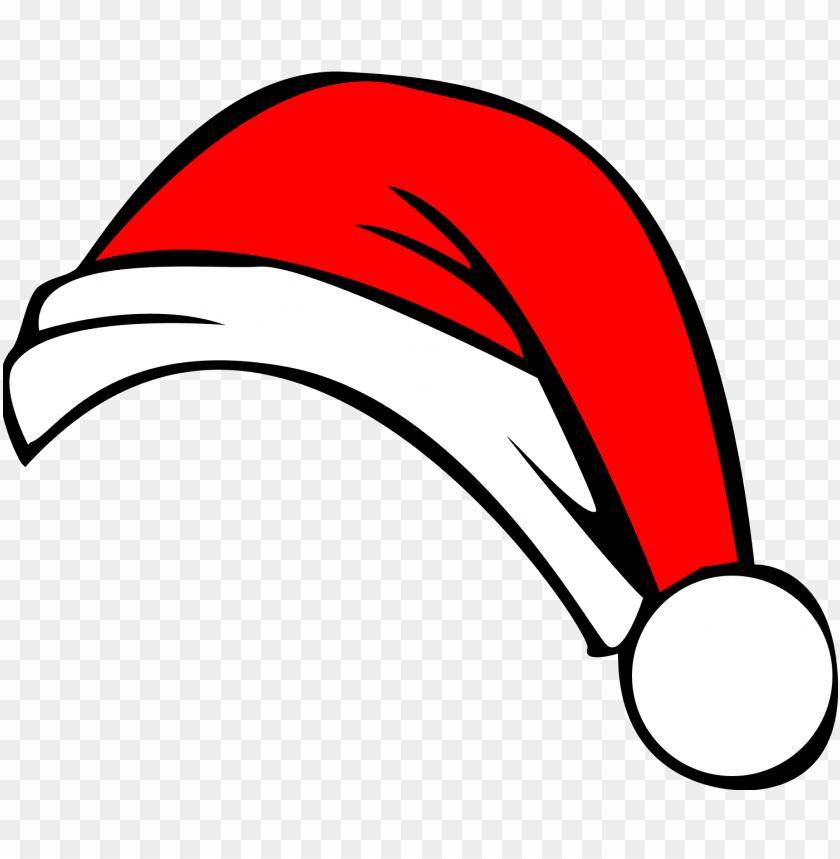 Christmas Hat Cartoon Transparent.Christmas Hat Png Image Background Cartoon Santa Hat Png