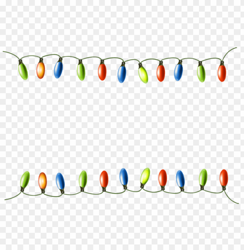 christmas lights png - Free PNG Images@toppng.com
