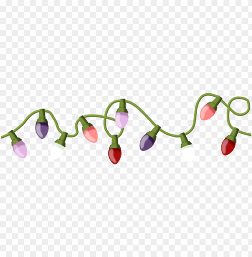 free PNG christmas lights png - Free PNG Images PNG images transparent