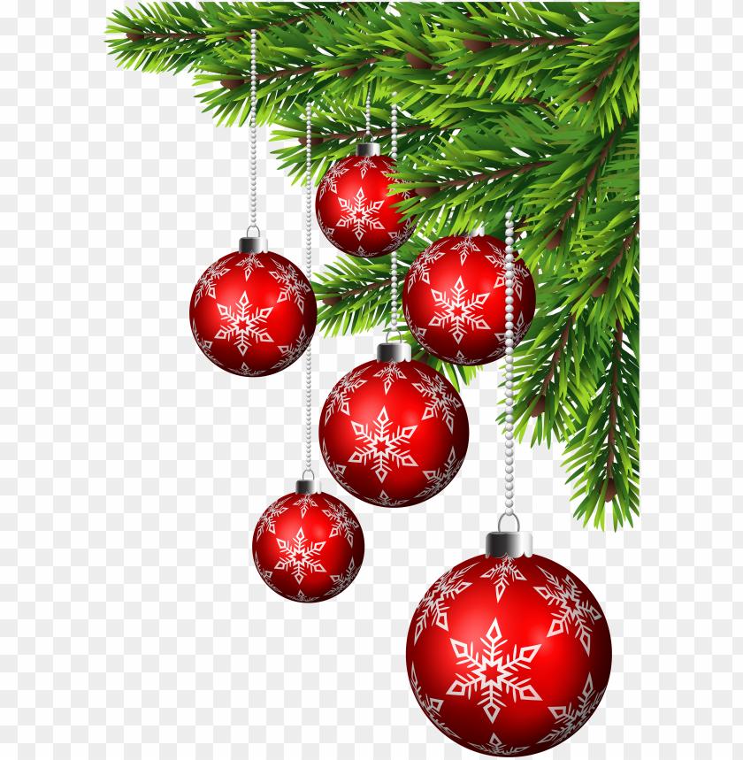 Transparent Christmas Decorations Png