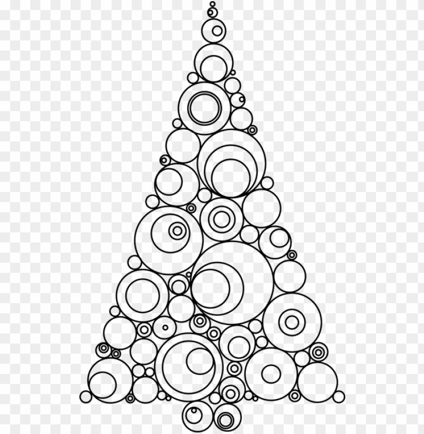 free PNG christmas ornament christmas tree christmas day clip - line drawings of christmas trees PNG image with transparent background PNG images transparent
