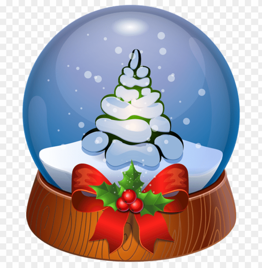 free PNG christmas tree snow globe transparent png - Free PNG Images PNG images transparent