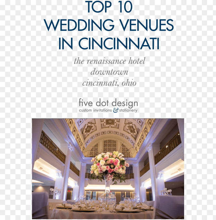 Cincinnati Ohio Top 10 Wedding Reception Venues
