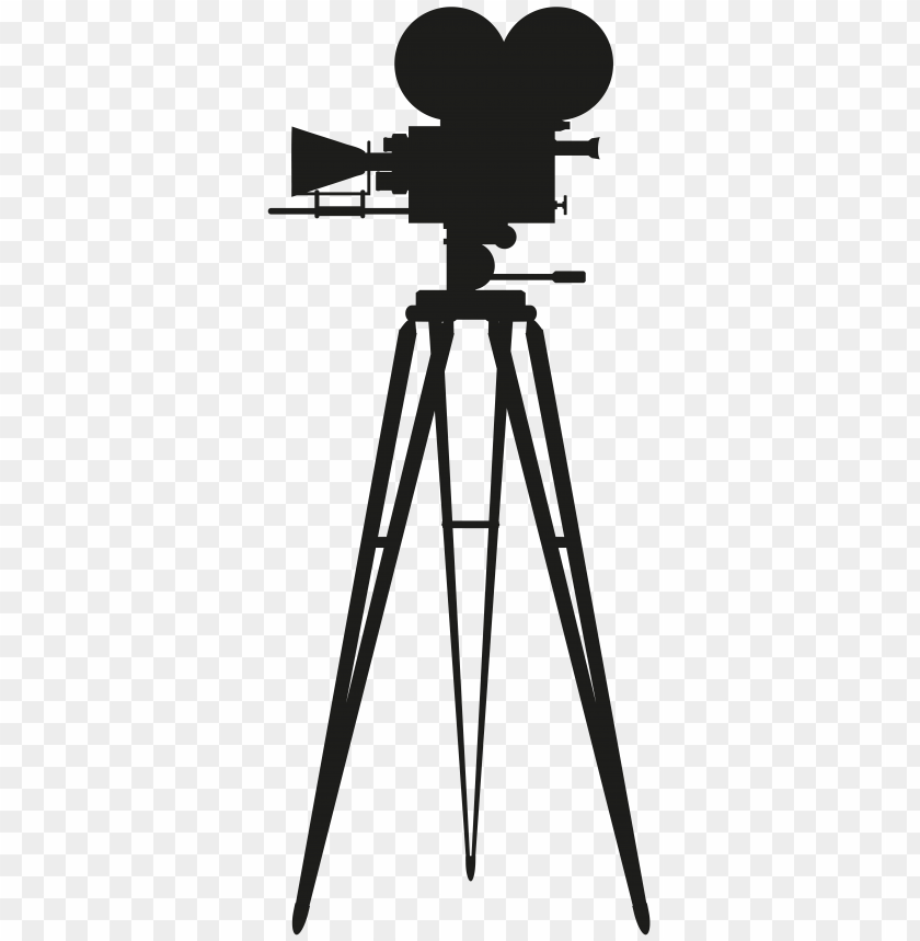 free png cinema camera silhouette PNG images transparent