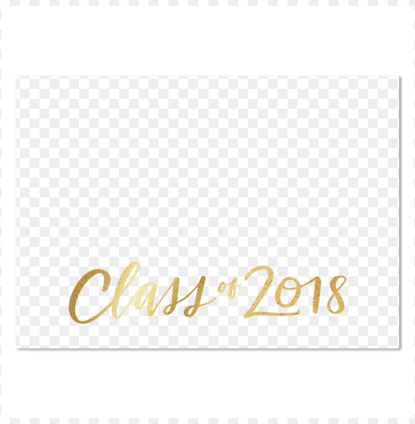 free PNG class of 2018 gold banner PNG image with transparent background PNG images transparent