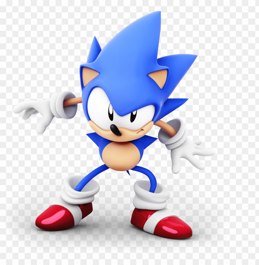 Classic Sonic Toei Sonic 3d Model Png Image With Transparent