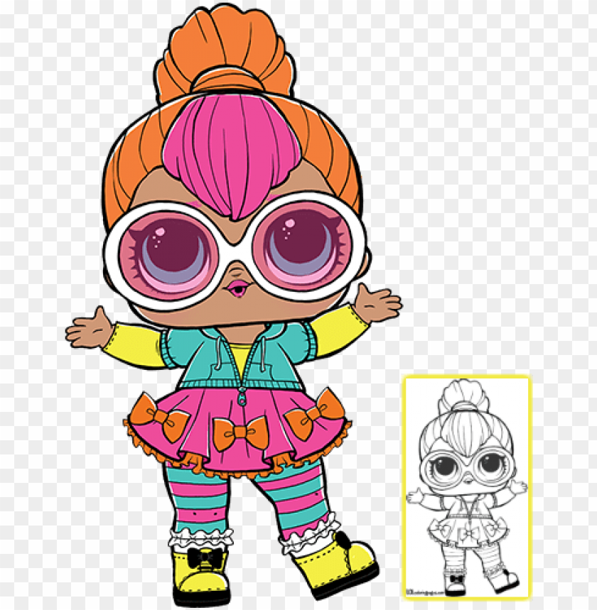 photograph relating to Lol Dolls Printable referred to as simply click in direction of down load coloring sheet lol dolls, doll social gathering