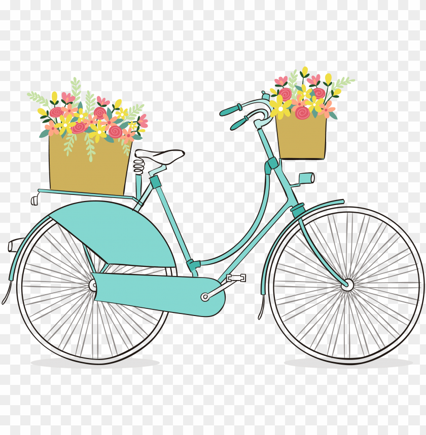 free PNG clip art download free romantic clip art pretty things - vintage bicycle clip art free PNG image with transparent background PNG images transparent
