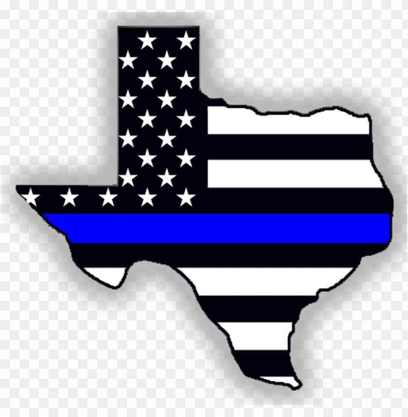 free PNG clip art freeuse indoor outdoor stickers thin blue - texas blue line decal PNG image with transparent background PNG images transparent