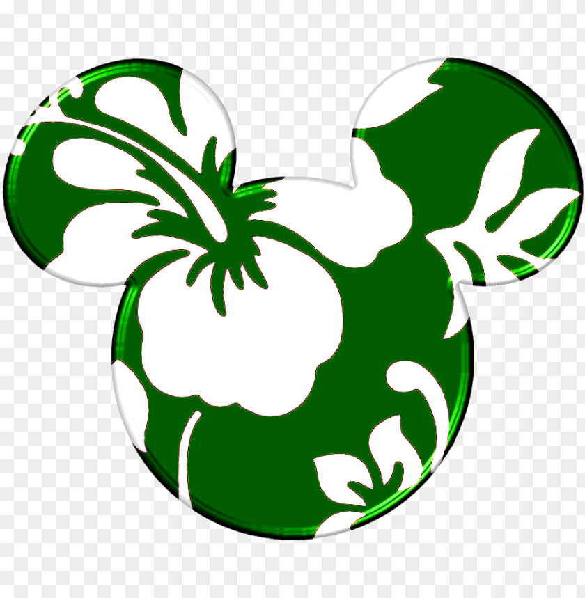Clipart Face Mickey Mouse Source Hawaiian Mickey Mouse
