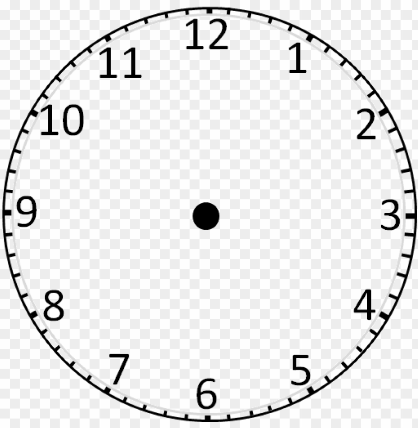 image of wall clock without hands