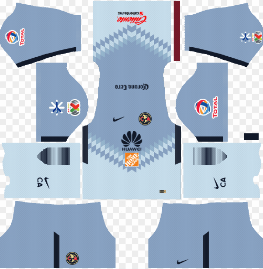 club america dream league soccer kits dls url - portugal