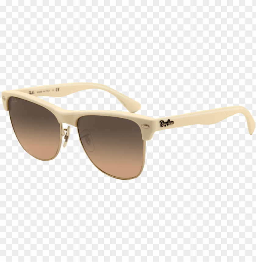 free PNG clubmaster ray ban white frame PNG image with transparent background PNG images transparent