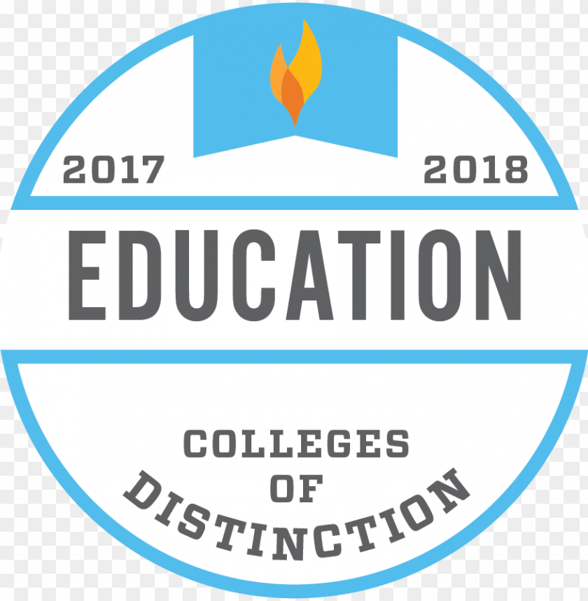 free PNG cod program badge education 2017 2018 300 ppi - college of distinction educatio PNG image with transparent background PNG images transparent