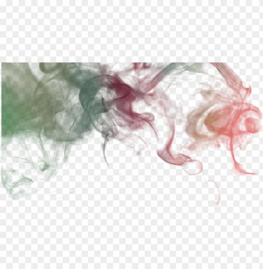 Colored Smoke Design Color Smoke Abstract Png And