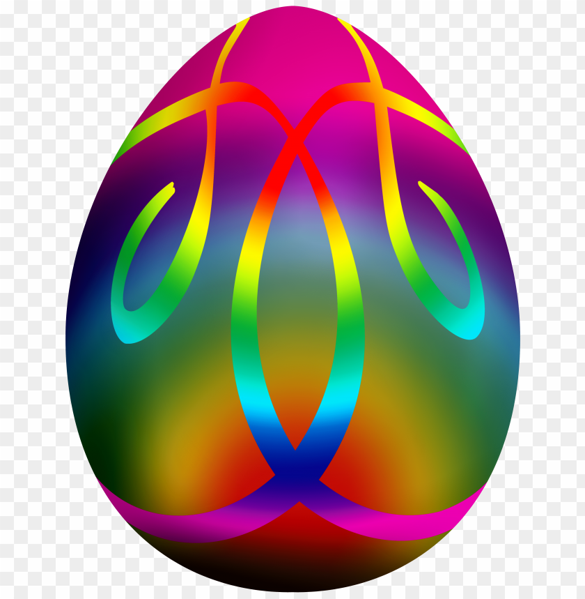 free PNG Download colorful easter egg  clipart png photo   PNG images transparent