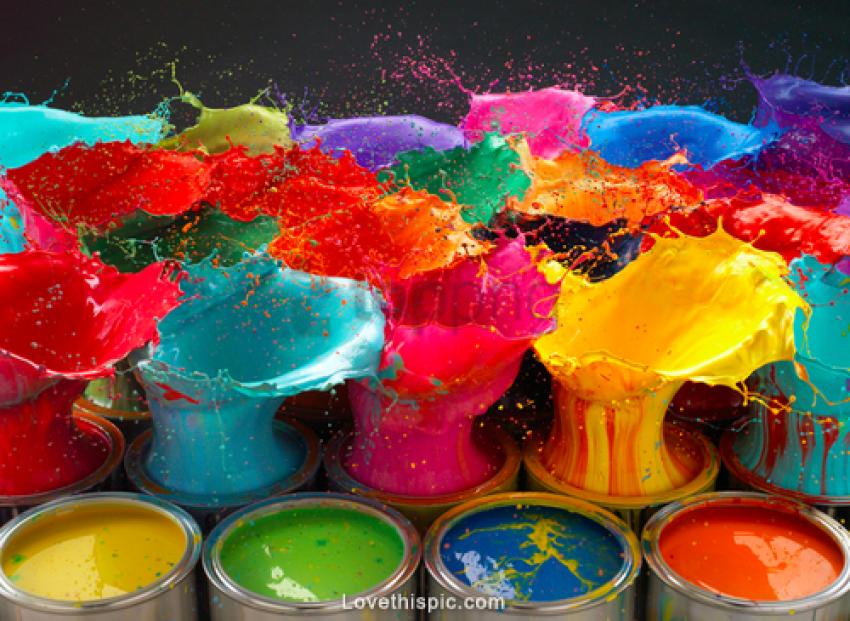 free PNG colorful paint splash background best stock photos PNG images transparent