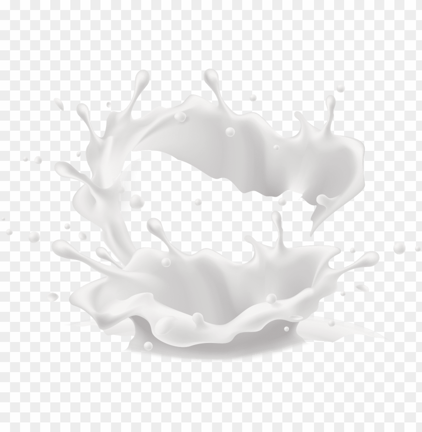 free PNG committed to complete customer satisfaction - splash milk PNG image with transparent background PNG images transparent