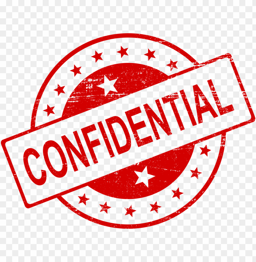 Free PNG Confidential Stamp Images Transparent