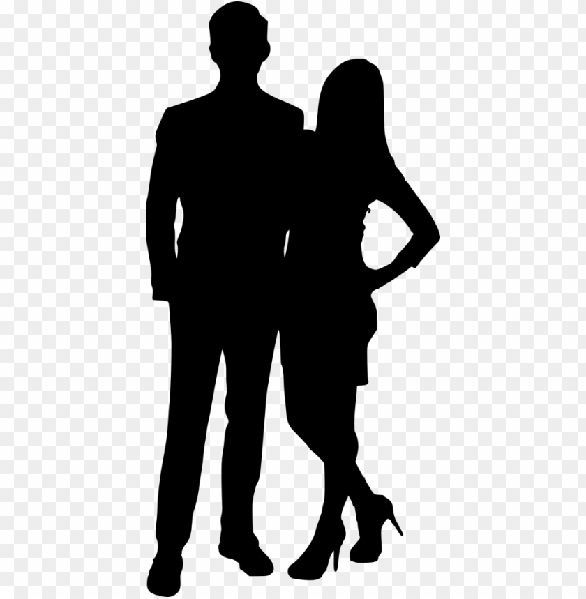 couple silhouette png free png images toppng