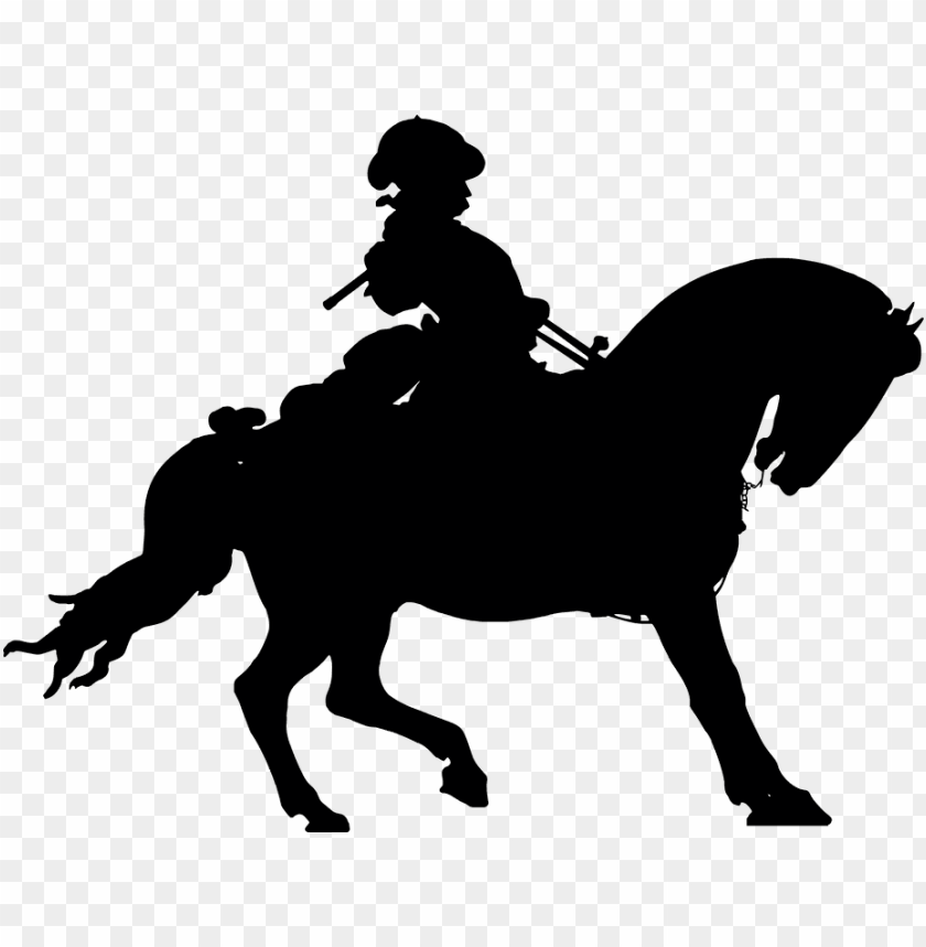 free PNG Download cowboy rider silhouette clipart png photo   PNG images transparent