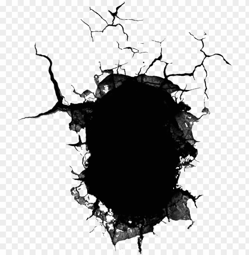 free PNG cracked hole in wall PNG image with transparent background PNG images transparent