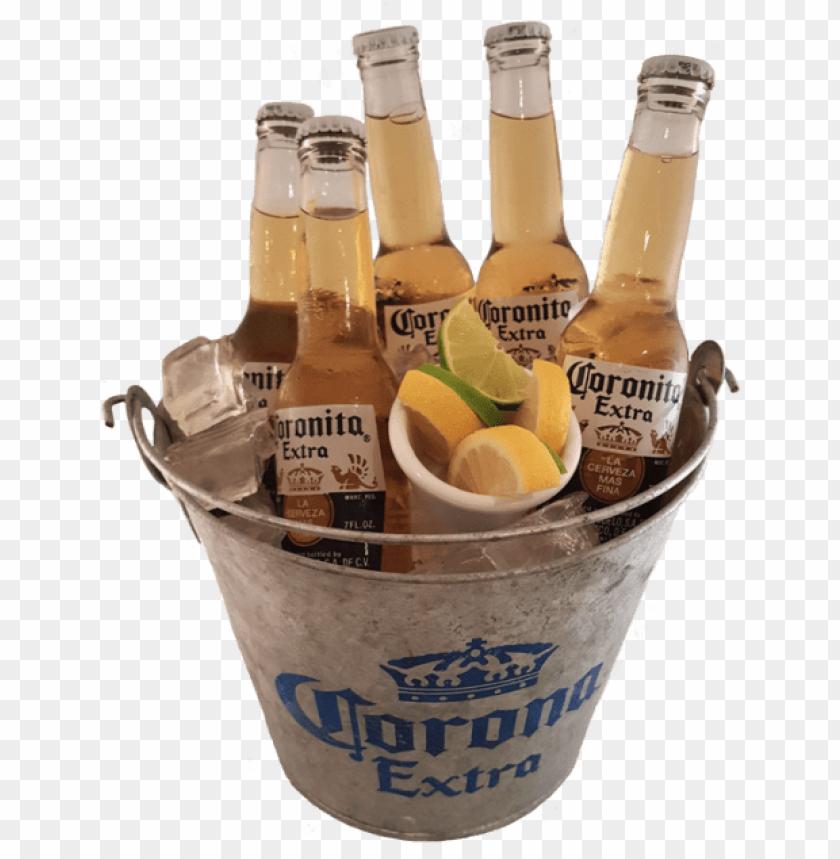 free PNG cubeta de coronas - cubetas de cervezas PNG image with transparent background PNG images transparent