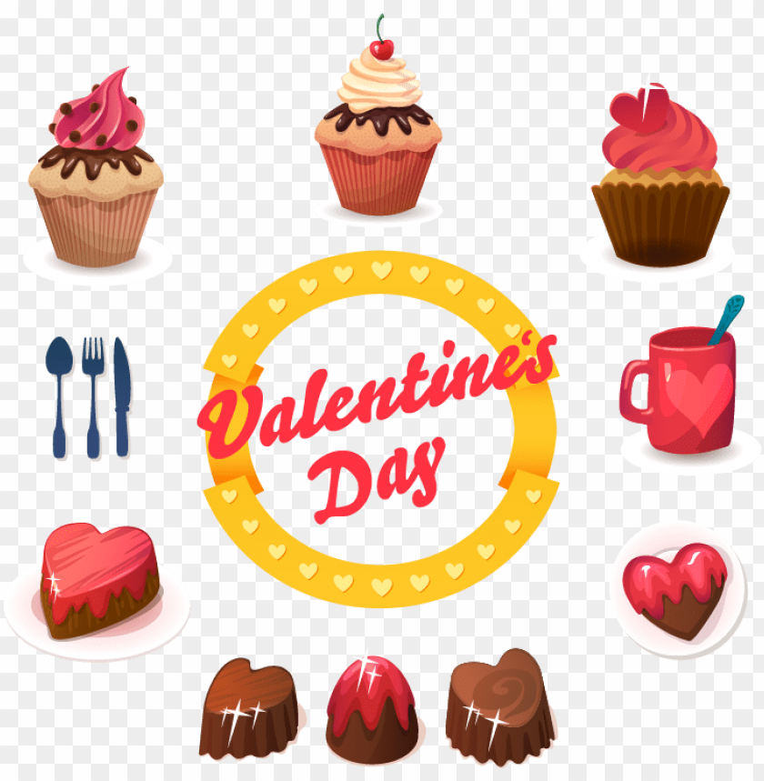 Free PNG Cupcake Muffin Birthday Cake Dessert