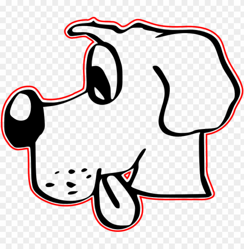 Download Cute Dog Drawing Shower Curtain Png Images Background Toppng