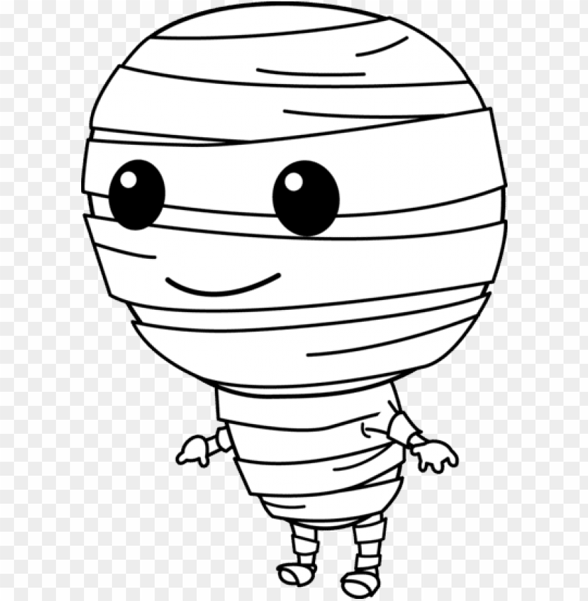 Download cute halloween mummy  free  images 2 clipart png photo  @toppng.com