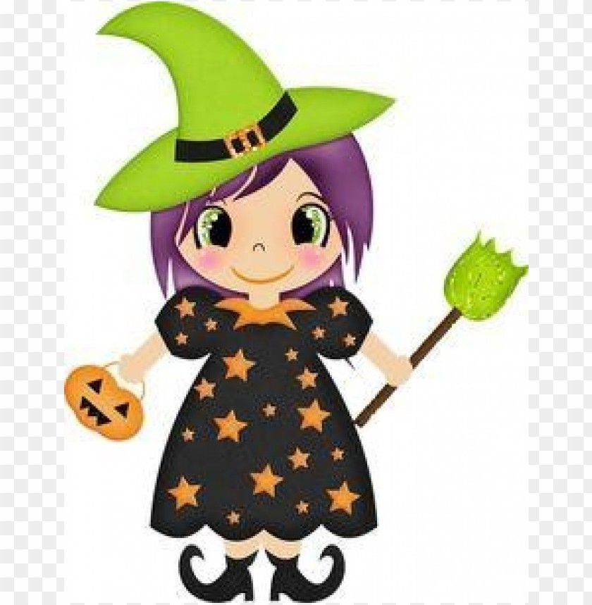 free png cute halloween witches PNG images transparent