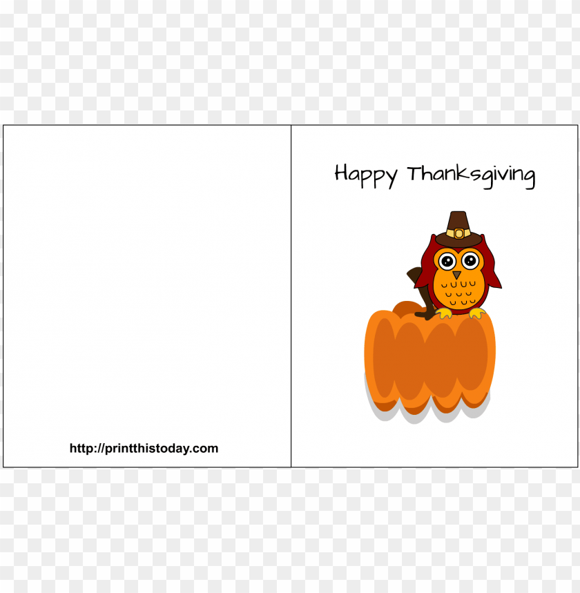 picture relating to Printable Thanksgiving Cards identified as adorable printable thanksgiving playing cards PNG impression with clear