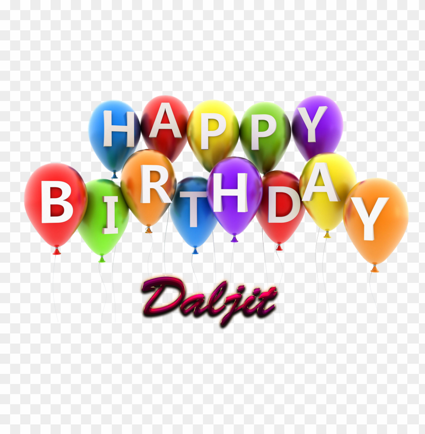 free PNG daljit happy birthday vector cake name png PNG images transparent