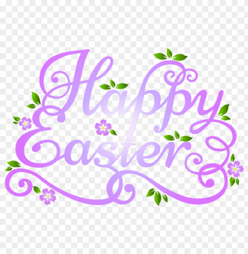 Download deco happy easter transparent png images background@toppng.com