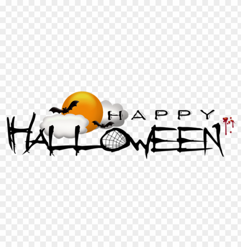 free PNG deco happy halloween PNG images transparent