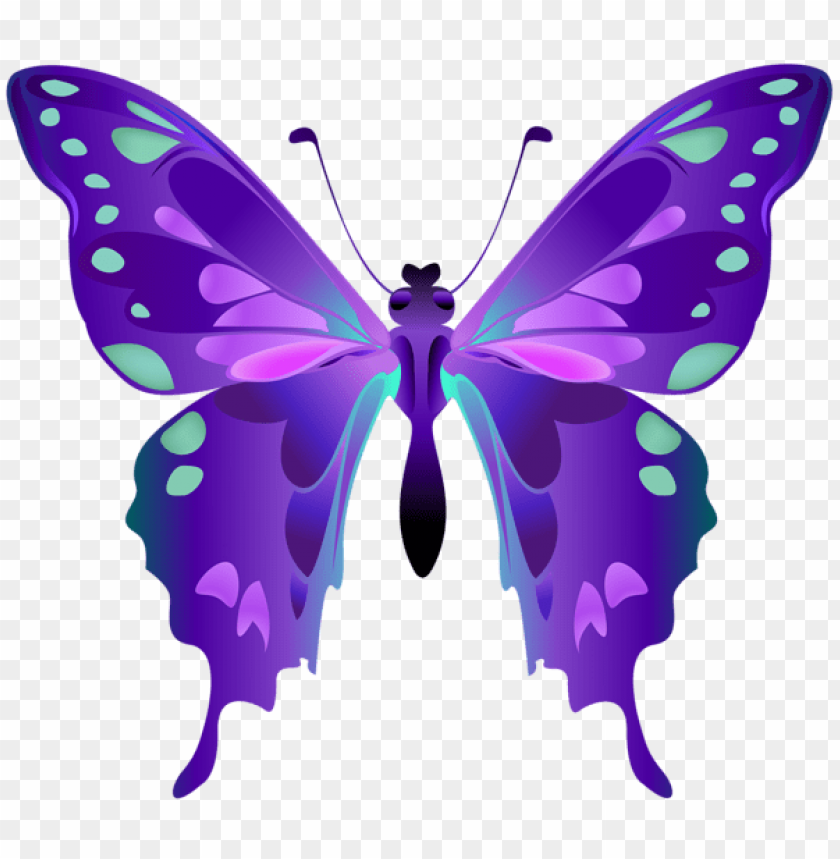 Download Decorative Butterfly Purple Clipart Png Photo Toppng