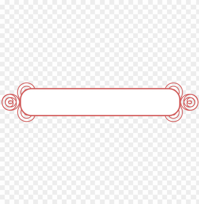 Decorative Text Box Vector Png Image With Transparent