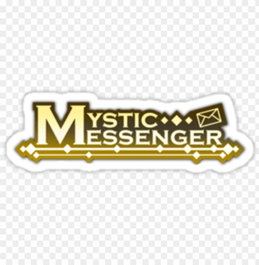 default - mystic messenger logo PNG image with transparent background@toppng.com