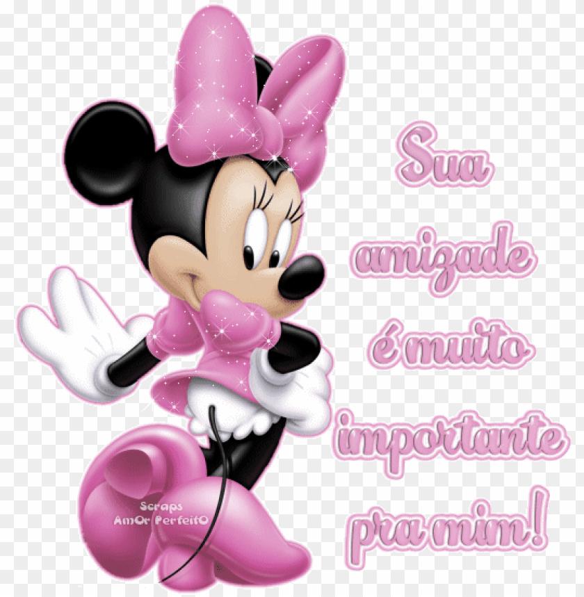 Desenho Da Minnie Rosa Minnie Pink Png Image With Transparent