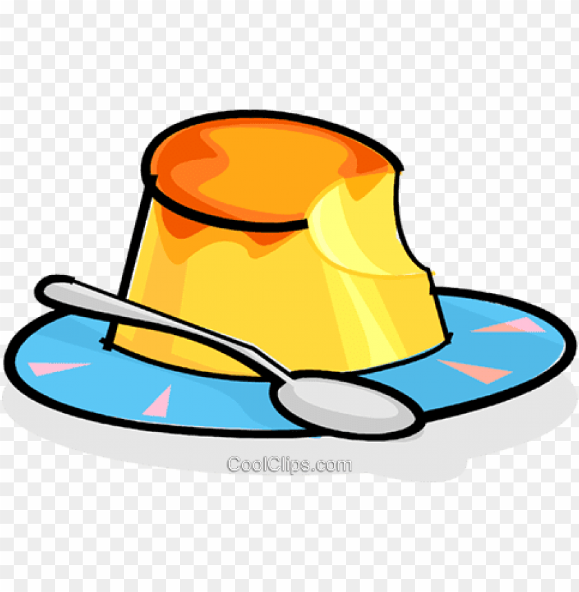 free PNG dessert on a plate royalty free vectorillustration -flan PNG image with transparent background PNG images transparent