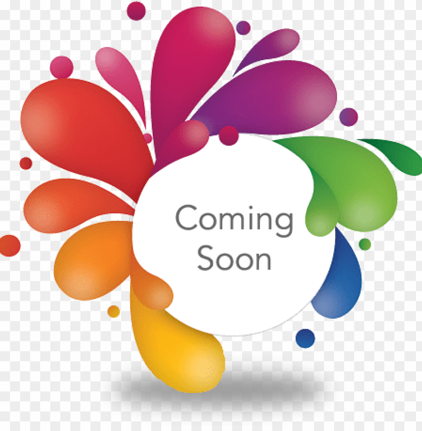 free PNG dessert plate - coming soon  logo PNG image with transparent background PNG images transparent